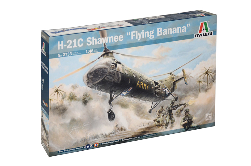 Italeri - H-21C SHAWNEE FLYING BANANA