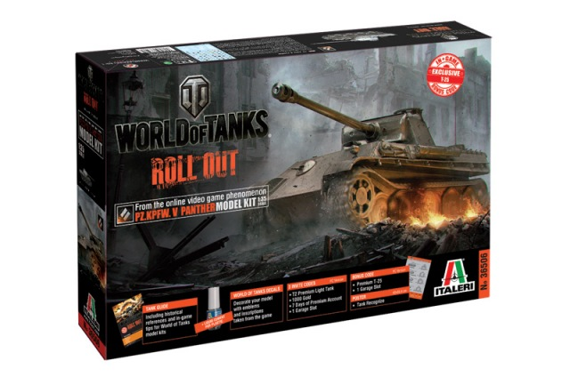 Italeri - PANTHER Ausf. G - World of
