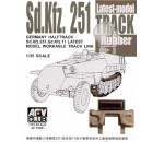Afv Club - SdKfz 251latest type rubber