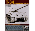 Afv Club - T-34 50cm cast track (workable)