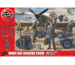Airfix A04702 - A04702 WWII RAF Ground Crew figura makett