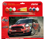 Airfix A55304 - BMW Mini Countryman WRC gift set autó makett