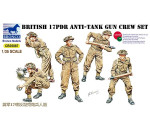 Bronco CB35087 - 17pdr Anti-Tank Gun Crew set