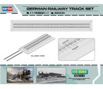 HobbyBoss - German Railway Track set