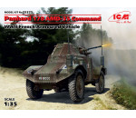 ICM - Panhard 178 AMD-35 Command. WWII French Armoured Vehicle