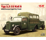 ICM - Typ 2,5-32 KzS 8, WWII German Light Fire Truck
