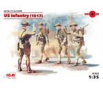 ICM 35689 - US Infantry (1917) (4 figures)