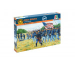 Italeri 6177 - AMERICAN CIVILWAR: UNION INFANTRY - 50 figures