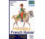 MasterBox - French Hussar, Napoleonic Wars era