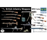 MasterBox - British infantry weapons, WWII era