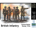 MasterBox 35146 - British infantry, Somme battle, 1916