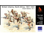 MasterBox 3580 - British Infantry North Africa Desert