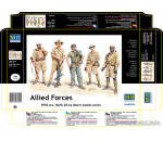 MasterBox 3594 - Allied Forces. N.Africa desert battles.s