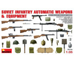 MiniArt - Soviet Infantry Automatic Weapon&Equipme