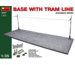 MiniArt - Base with Tram Line