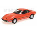 Minichamps 180049028 - OPEL GT/J - 1971 - RED