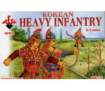 Red Box - Korean heavy infantry, 16.-17. century