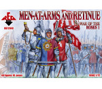 Red Box 72040 - War of the Roses 1. Men-at-Arms & Retinu
