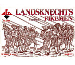 Red Box 72058 - Landsknechts (Pikemen), 16th century