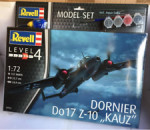 Revell - Model Set Model Set Dornier Do17Z-10