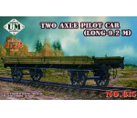 Unimodels - Two axle pilot car(9.2 meter long)