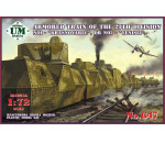 Unimodels - Armored train No1 Krasnoyarec´or No2 Yen