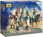 Zvezda - French Infantry Command Group Napoleonic Wars