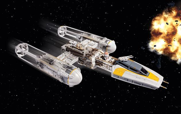 Revell - Star Wars - Y-Wing - easy kit